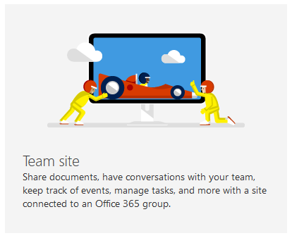 Team site icon