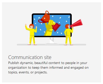 Communication site icon